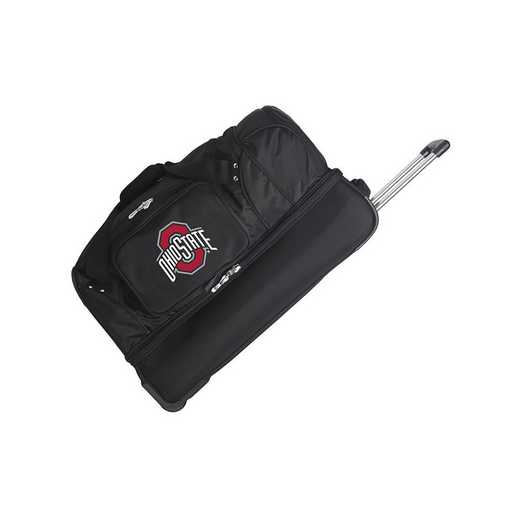 CLOSL300: NCAA Ohio State UNIV Buckeyes 27IN WHLD Duffel Nylon bag